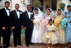 Kodachrome Wedding: 1956