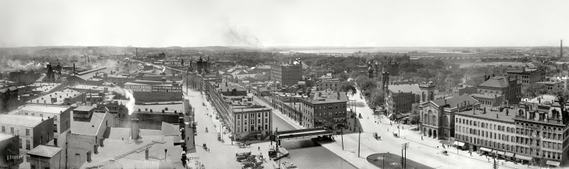 Syracuse Panorama: 1901