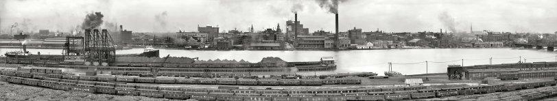 Toledo Panorama: 1909