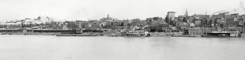 Vicksburg Panorama: 1909