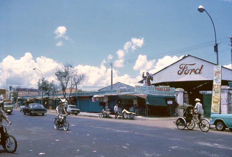 Saigon Ford Dealer: 1965 | Shorpy | Vintage Photography
