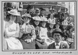 Bound to see the Wedding: 1901