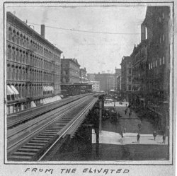 From the Elevated: 1900