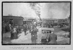 Leaving for the War: 1898
