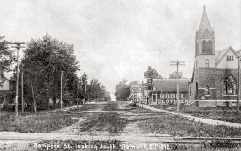 Downtown Tremont: 1892
