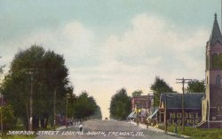 Sampson Street Postcard: 1892