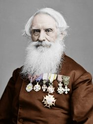 Samuel Finley Breese Morse (Colorized)