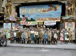 Saturday Matinee (Colorized): 1925