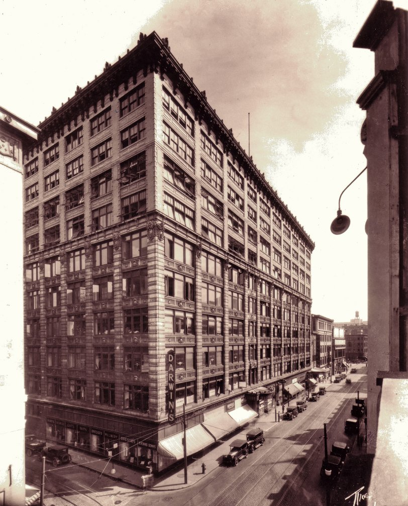 Jacob Building, Montreal: 1929