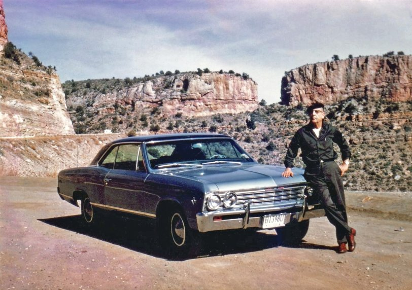 Grandpa and his Chevelle