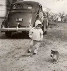 Kiddie with Kitty 1940