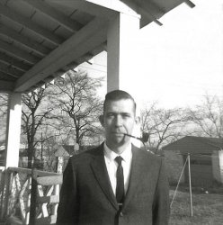 Pop with Pipe: c.1963