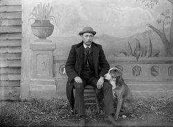 A Self Portrait: c. 1895