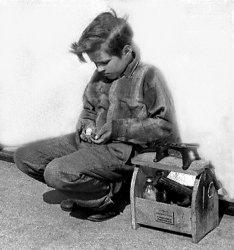 Shoe Shine Boy: 1950