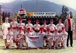 Sierra Madre Little League: c. 1960