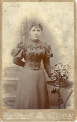 Sister of Charles Gallienne, Liverpool, turn of the century