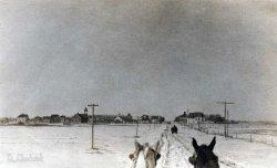 Sleigh Ride: c.1915