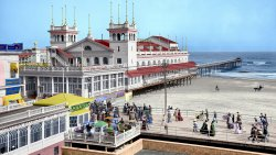 Steeplechase Pier (Colorized): 1905