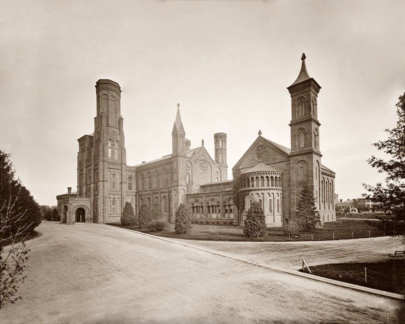 Smithsonian Castle: 1860s (Restored)