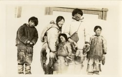 Inuit Family Portrait