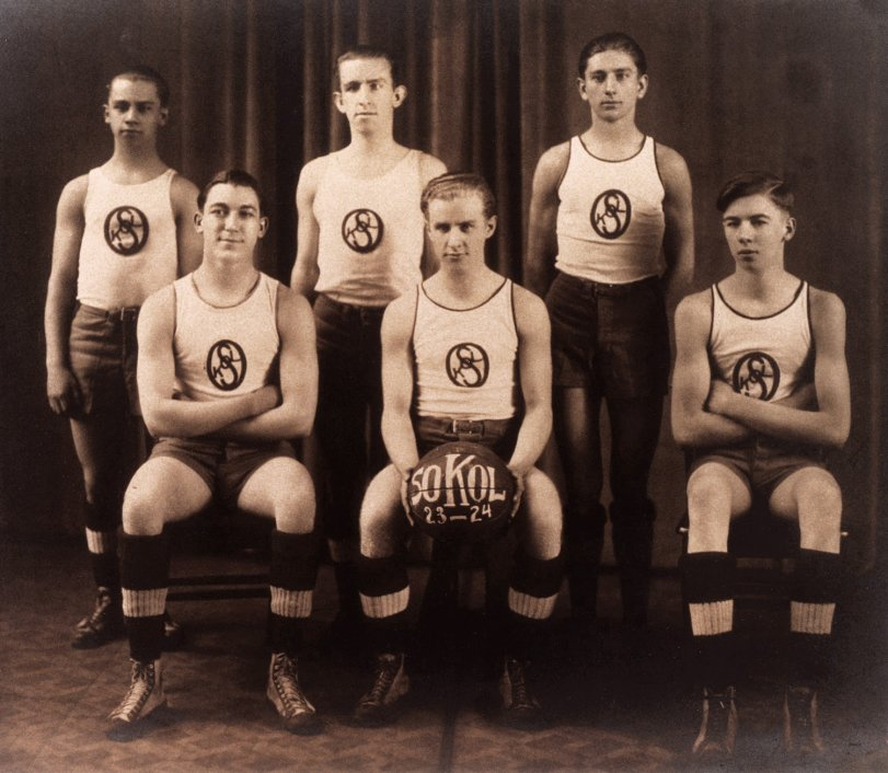 Sokol Basketball 1923-1924