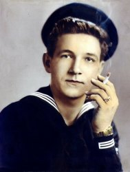 Young Navy Sailor - ca. 1949