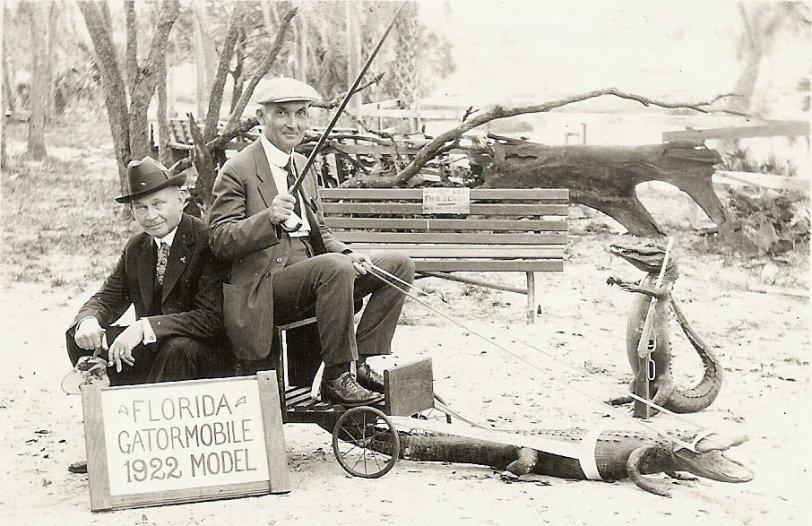 Florida Gatormobile: 1922