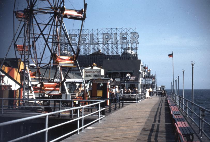 The Steel Pier: 1949