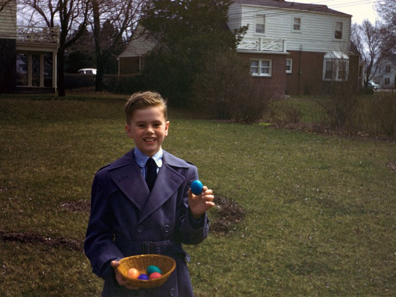 I Am the Egg Boy: 1950s
