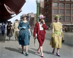 Stepping Out (Colorized): 1922