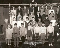 Stivers Elementary: 1969-1970