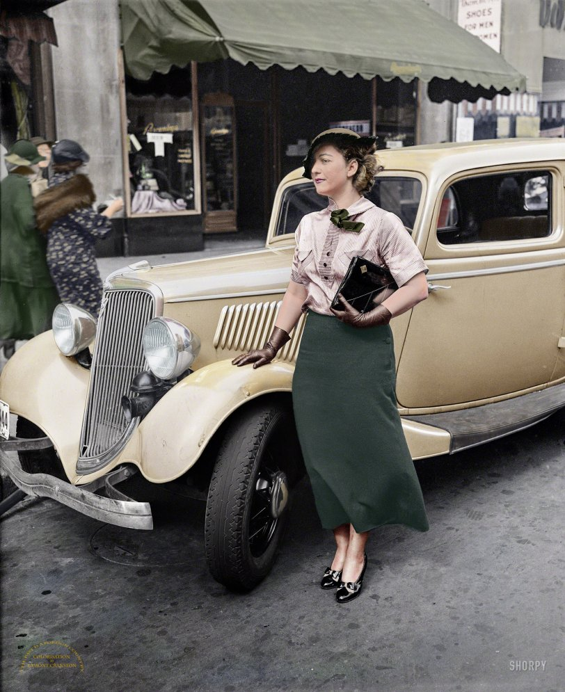Newsy Parker (Colorized): 1935