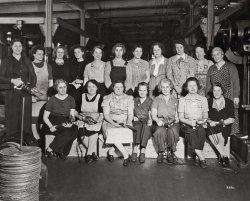Sturtevant Assembly Workers: 1945