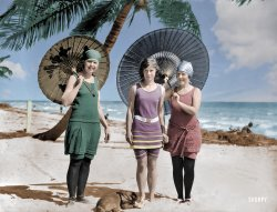 Sun and Fun (Colorized): 1923