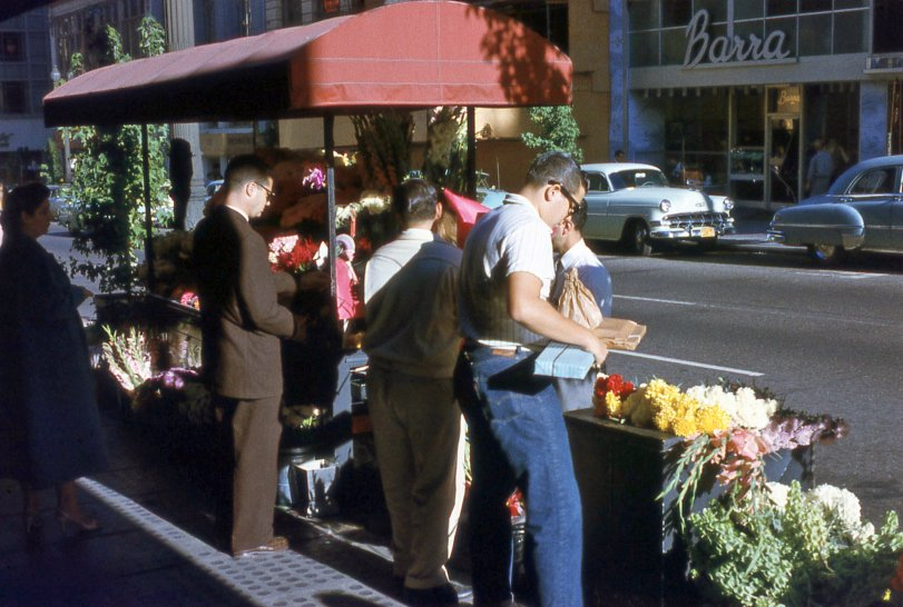 San Francisco Flower Power c.1958