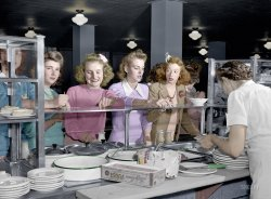 Sweater Girls (Colorized): 1943