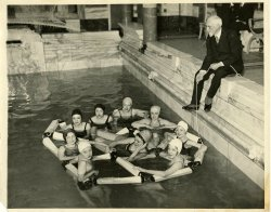 New Folding Life Raft - 1931