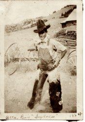 Mayflower Gulch MT 1924