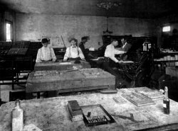The Gray Printing Press: 1890