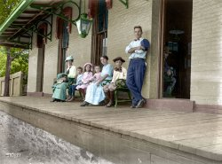 The Poughkeepsie Peeper (Colorized): 1900
