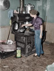 This Old Stove (Colorized): 1940
