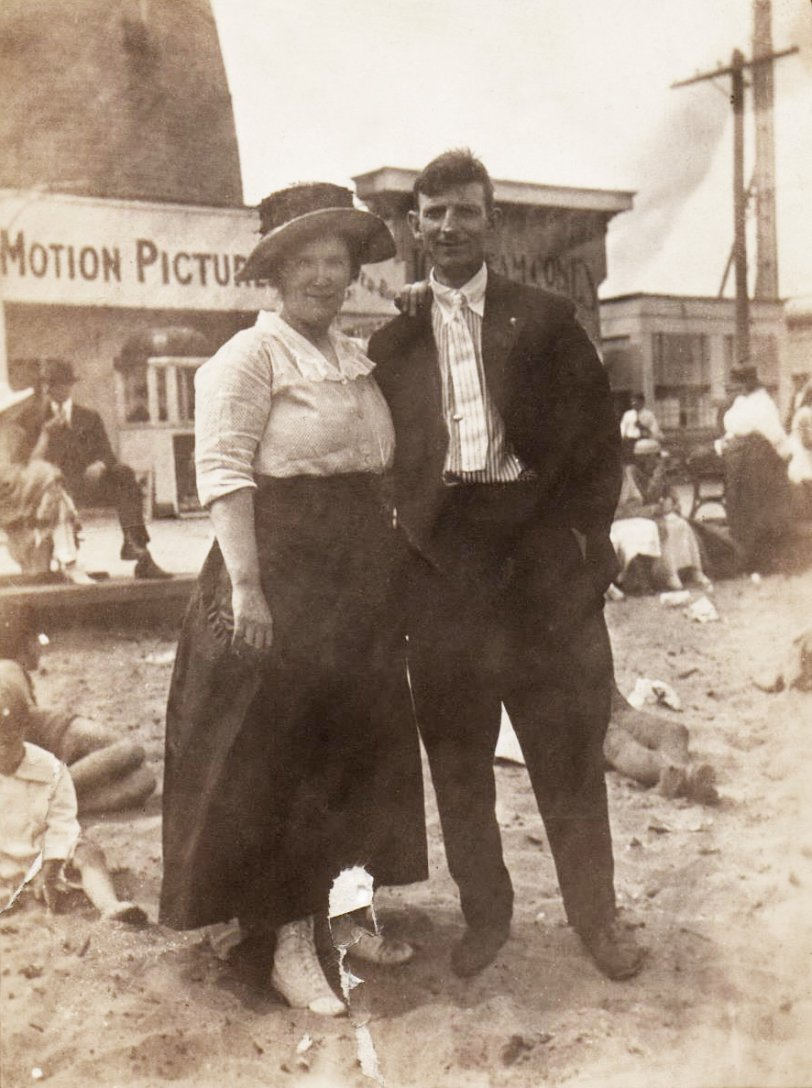 At the Shore: 1920