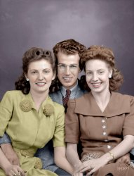 Three's Company (Colorized): 1945