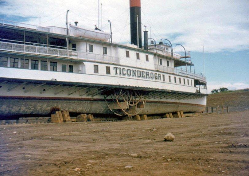Ticonderoga in Transit: 1955