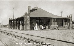 Electric Rail Depot: 1910