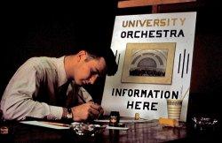 U-Mich. Orchestra: 1950s