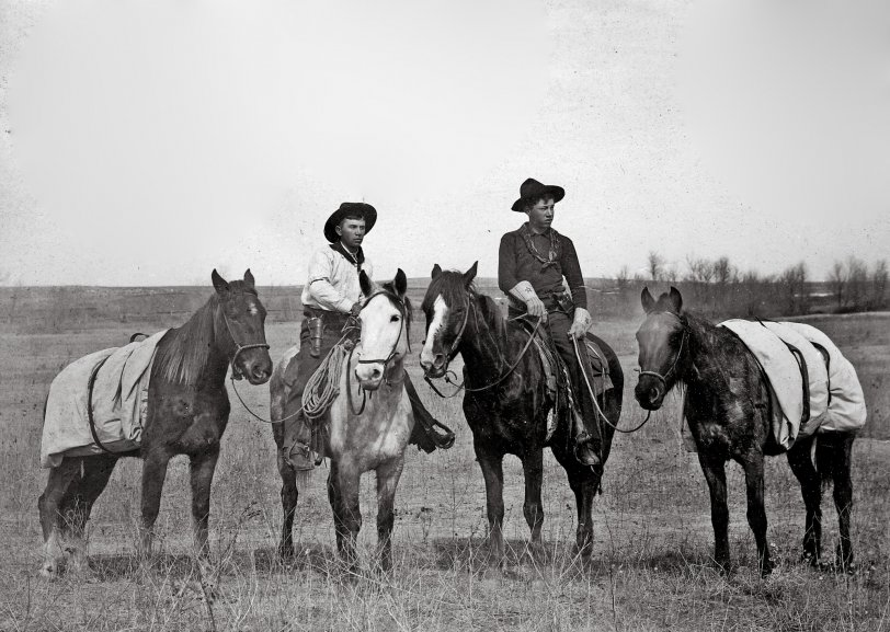 Hitting the Trail: c. 1889
