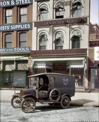 Qwerty Wagon (Colorized): 1919