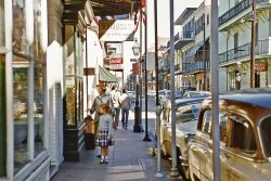 French Quarter: 1956