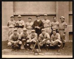 Vitagraph Studios Baseball Team: 1920